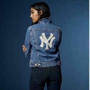 Levi's MLB Denim Trucker Jacket -New York Yankees